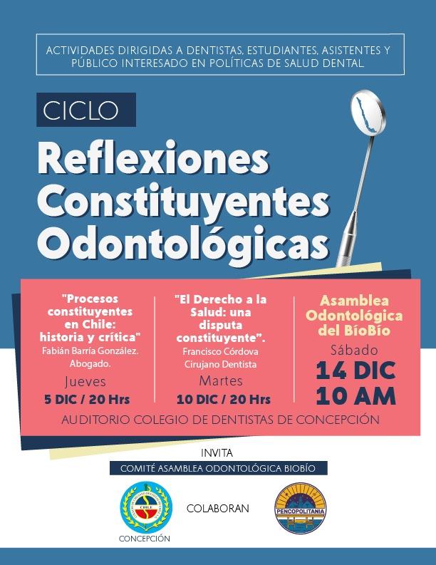 Reflexiones Constituyentes Odontológicas