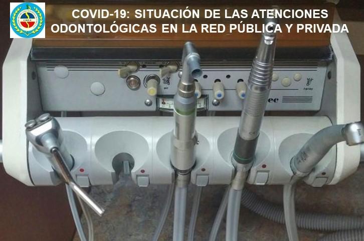 COVID-19: SITUACIÓN DE LAS ATENCIONES ODONTOLÓGICAS EN LA RED PÚBLICA Y PRIVADA