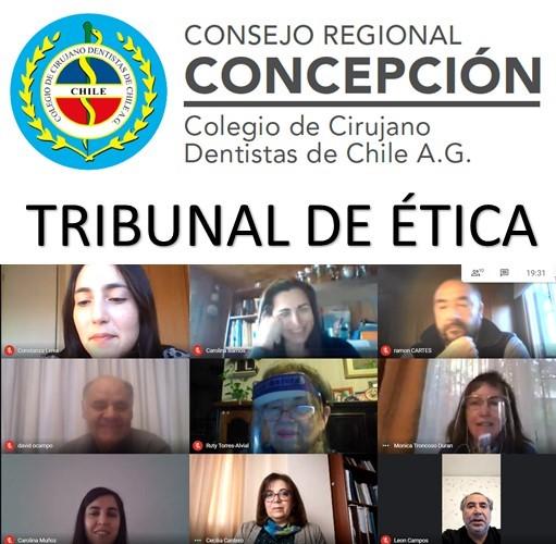 TRIBUNAL DE ÉTICA REGIONAL CONCEPCIÓN